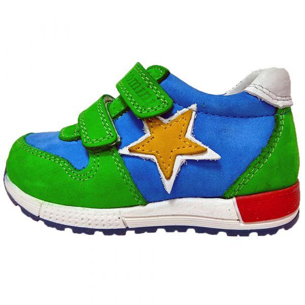 Кроссовки Tomini  сине-зеленые 1403,2