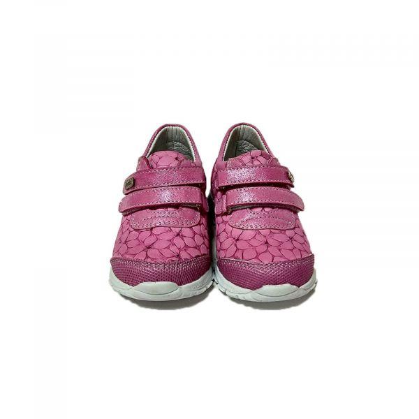 Кроссовки Panda розовые с цветочным оттиском