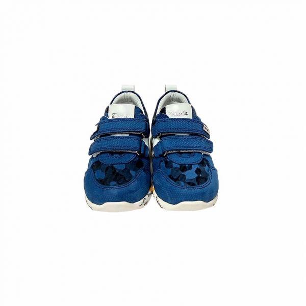 Кроссовки Panda синие с перфорацией 06.02 B 21 25