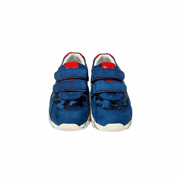 Кроссовки демисезонные Panda синего цвета с перфорацией