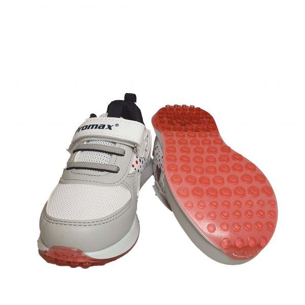 Кроссовки Promax серые с белыми вставками