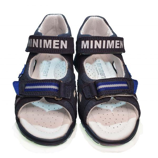 Сандалии Minimen темно-синие открытые