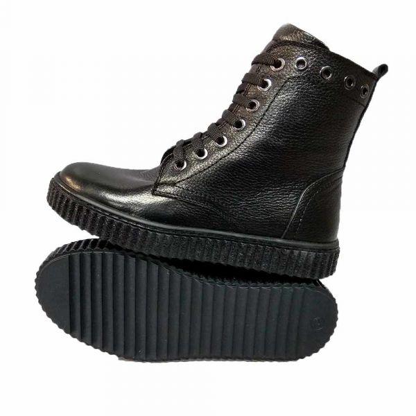 Ботинки Tunel черные высокие 1873-408-4