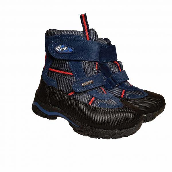 Ботинки Panda синие меховые 011.0328.5
