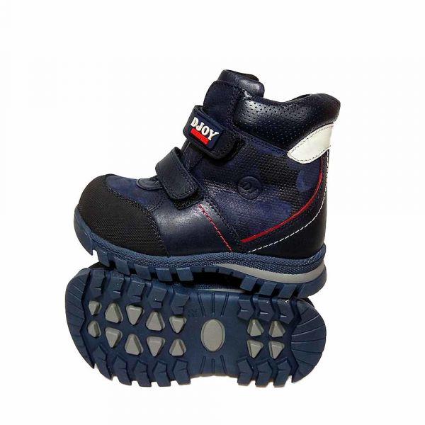 Ботинки DJOY темно-синие на липучках 600.194.687
