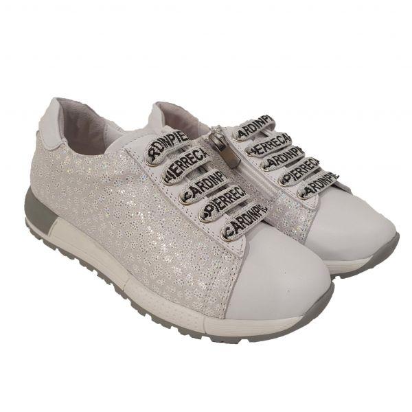 Кроссовки  PANDA белые с напылением