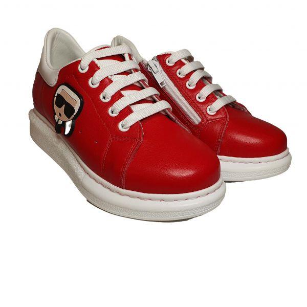 Кроссовки Panda красные