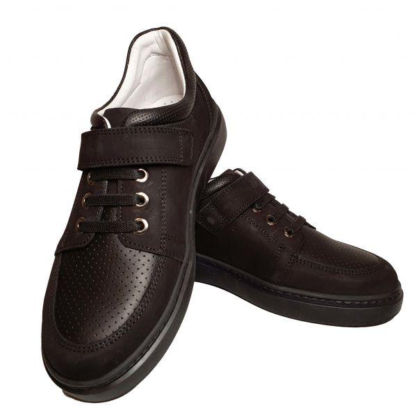 Кроссовки Tunel черные нубуковые с кожаными вставками ( 112 )