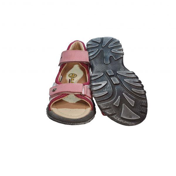 Сандалии Minicolor светло-розовые с жестким задником (113)