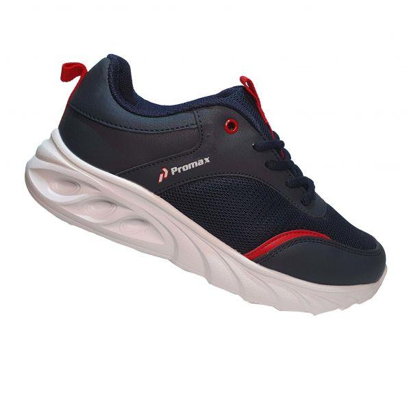 Кроссовки  Promax синие с красными вставками (121)