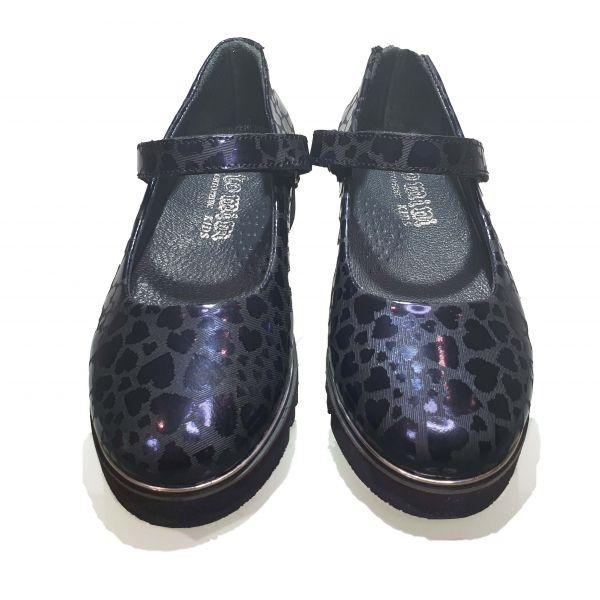 Туфли Tomini синие 615.12