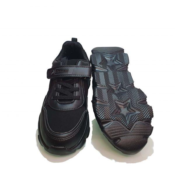 Кроссовки  Promax черные 1583-07