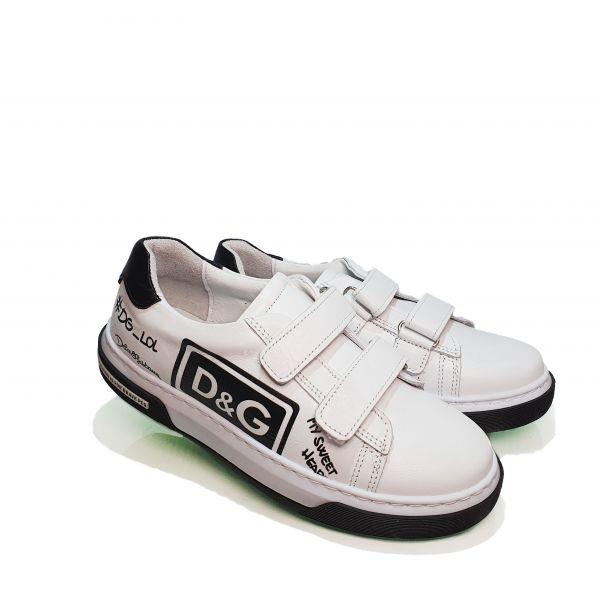 Кроссовки Panda белые 006.0462-2