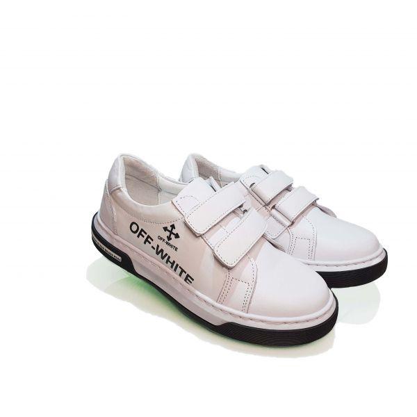 Кроссовки Panda белые 006.0435  1