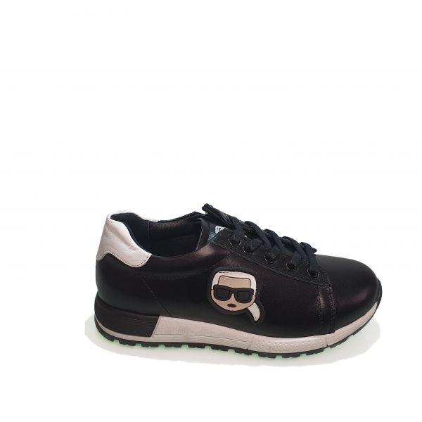 Кроссовки Panda черные 006.0462-1