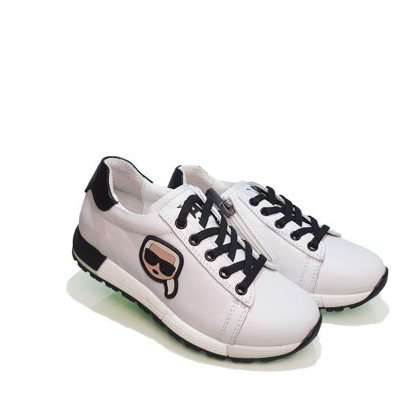 Кроссовки Panda белые 006.0462-1