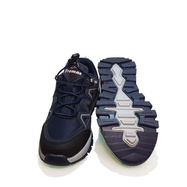 Кроссовки  Promax синие с синей резинкой 1738.01