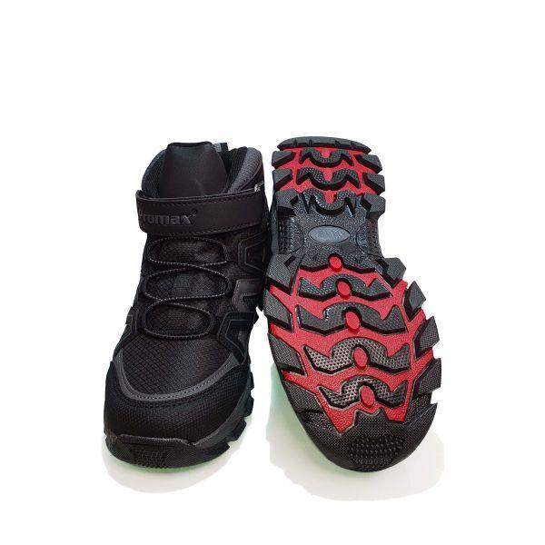Кроссовки  Promax черные высокие 1726-2
