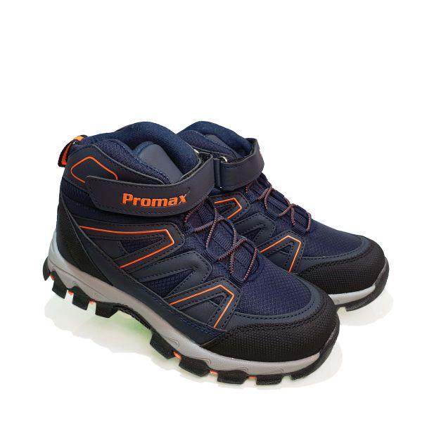 Кроссовки  Promax синие высокие 1726-06