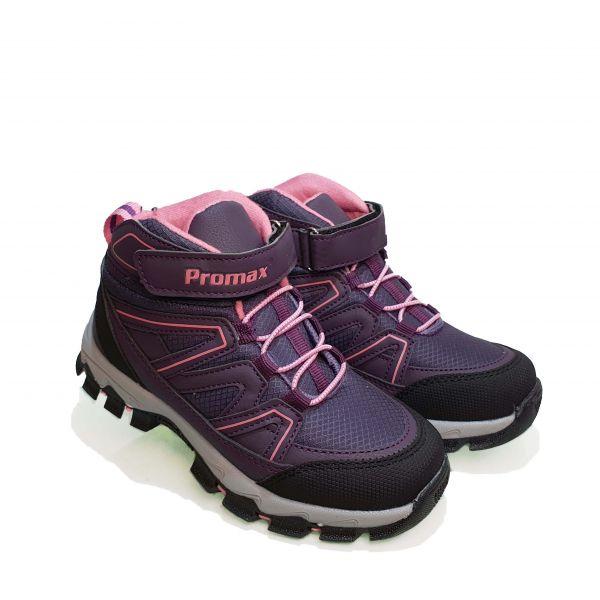Кроссовки  Promax фиолетовые высокие 1726-10