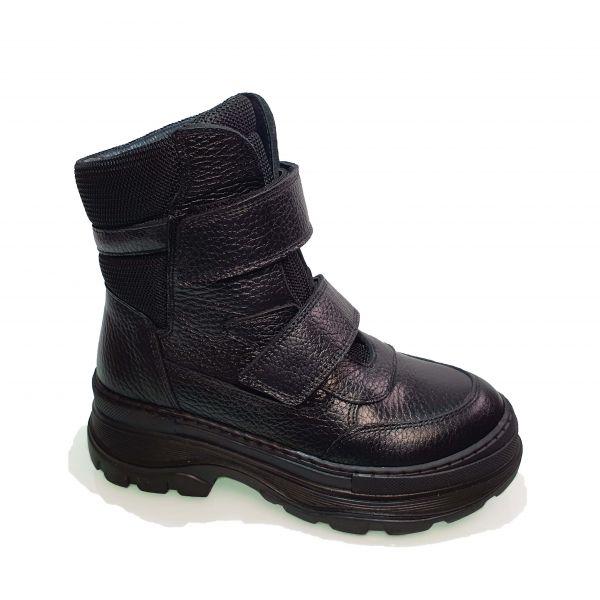 Ботинки Tunel черные высокие 23-1011-1