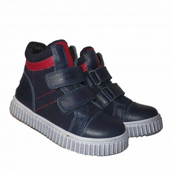Ботинки Panda синие черные 013 F