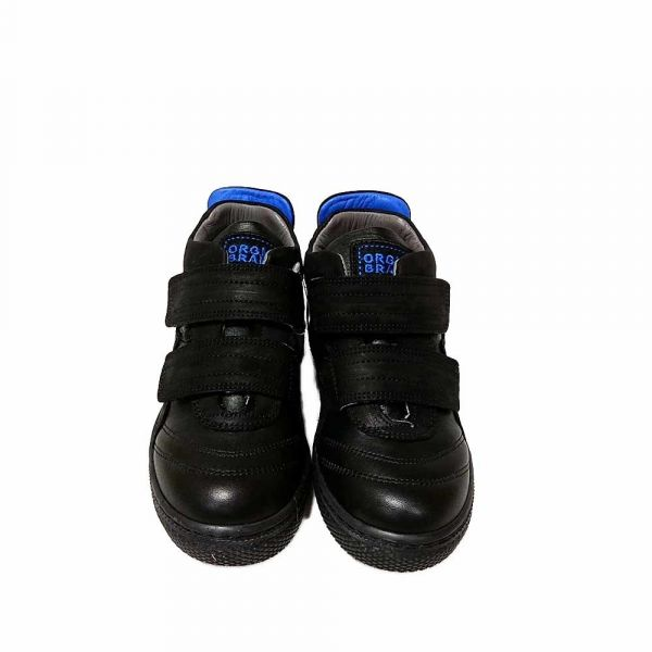 Ботинки TIFLANI черно-синие спортивные B-7127S