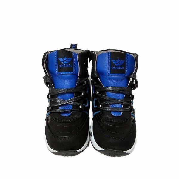 Ботинки Tiflani черные высокие B-9528S
