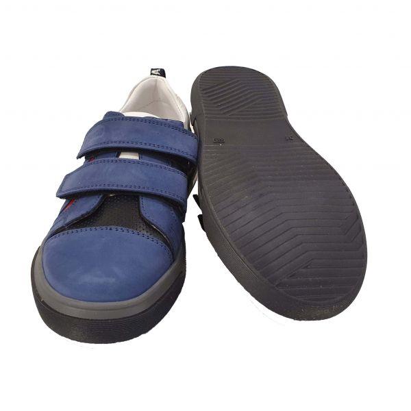 Кроссовки PANDA синие комбинированные