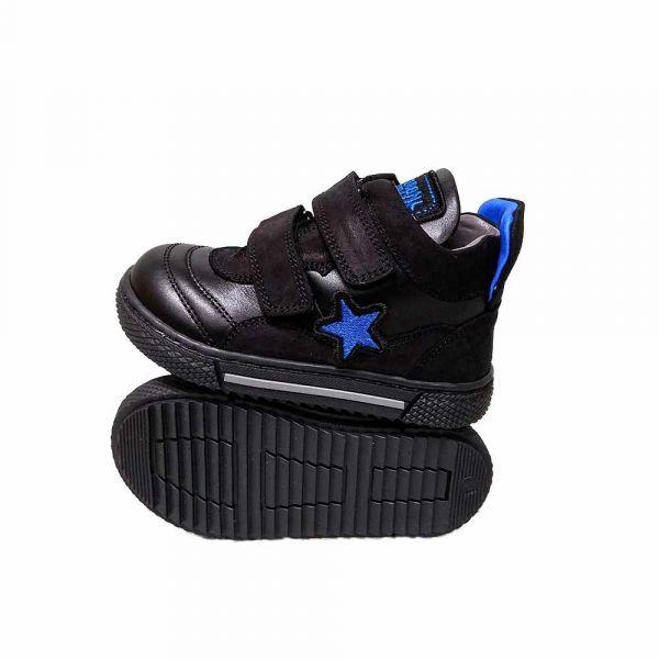 Ботинки Tiflani черные 18B B-1727S