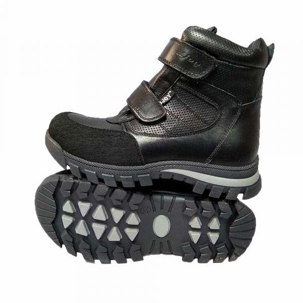 Ботинки Djoy черные меховые 111.043.347 37-40