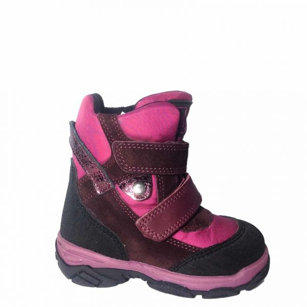 Ботинки Minimen Розовые Зимние