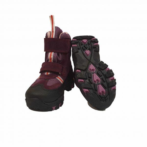 Ботинки Panda Сиреневые зимние меховые
