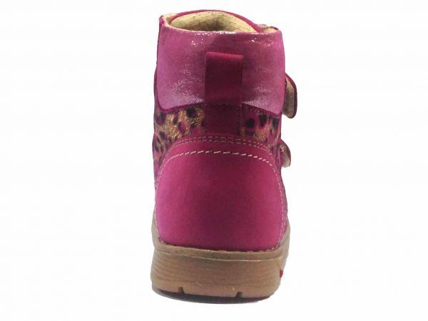 Ботинки Dr. Mymi розовые с блестящей вставкой