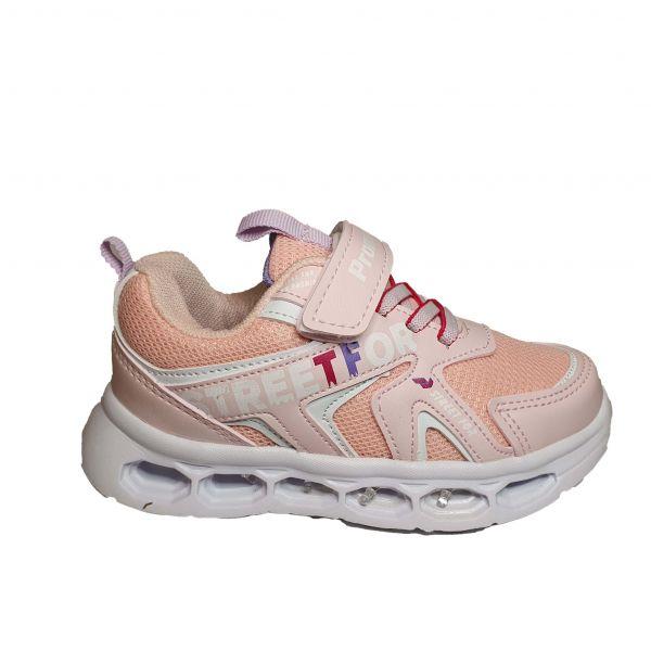 Кроссовки Promax светло-розовые светящиеся