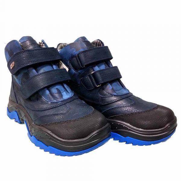 Ботинки  Panda синие на липучке с супинатором 42.3 31 36