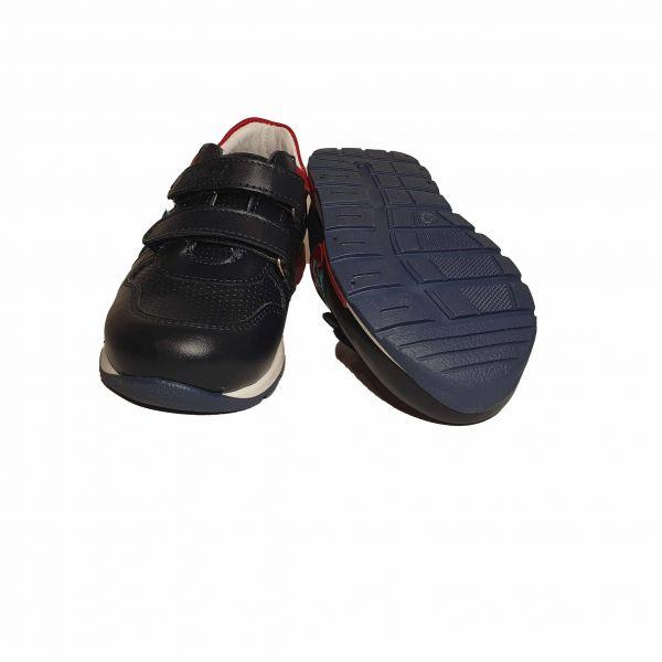 Кроссовки Tiflani черные с цветными вставками