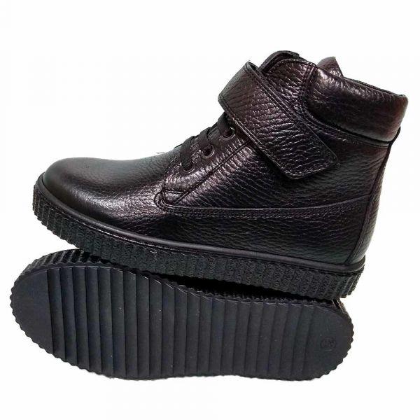 Ботинки Tunel черные спортивные 1615-163 31-36