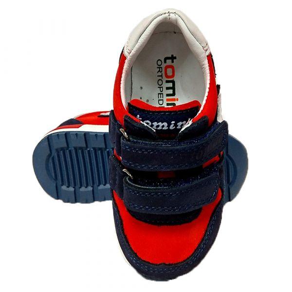 Кроссовки Tomini красные с супинатором 1403,1 21 30