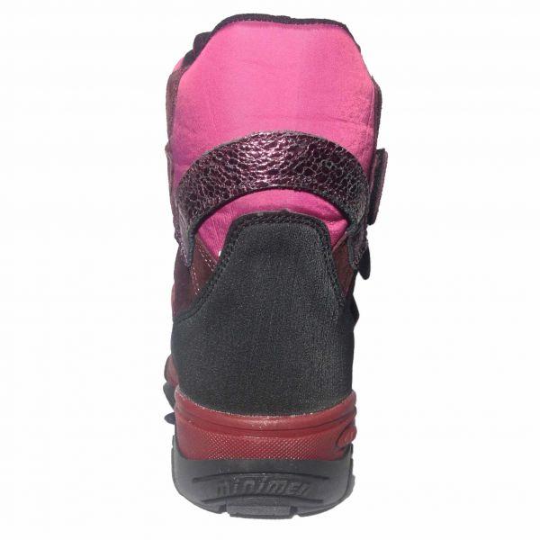 Ботинки Minimen розовые с усиленным мыском и пяткой мембранные