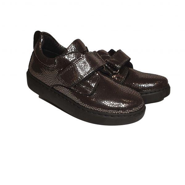 Кроссовки Tiflani черные с липучками