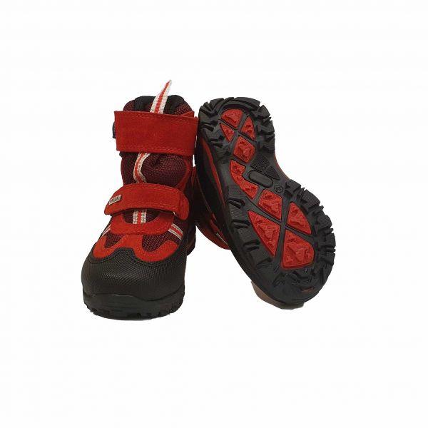 Ботинки Panda Красные зимние