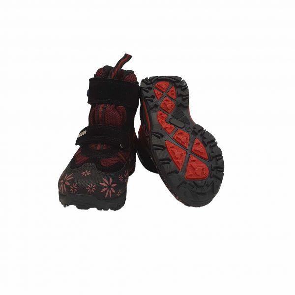 Ботинки Panda Бордовые зимние