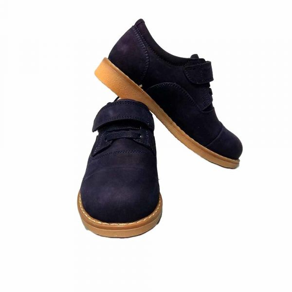 Туфли Tunel синие замшевые 04-28-709 M27 30