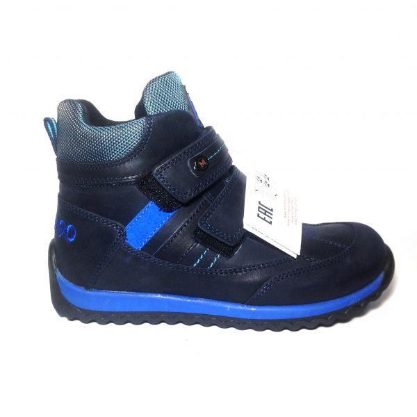 Ботинки Minimen темно-синие высокие  (122)