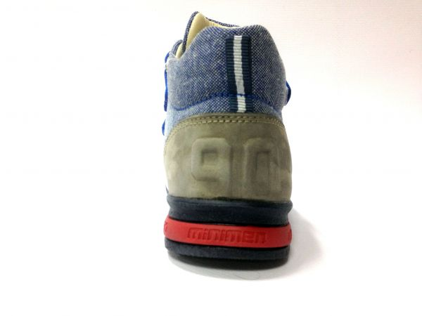 Кроссовки Minimen синие 1558-13-9A